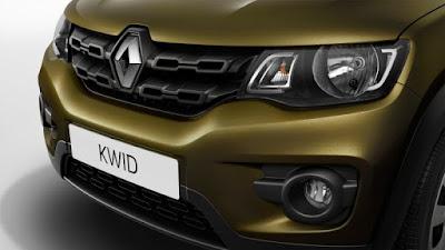 Renault Kwid 1.0 MT front bumper
