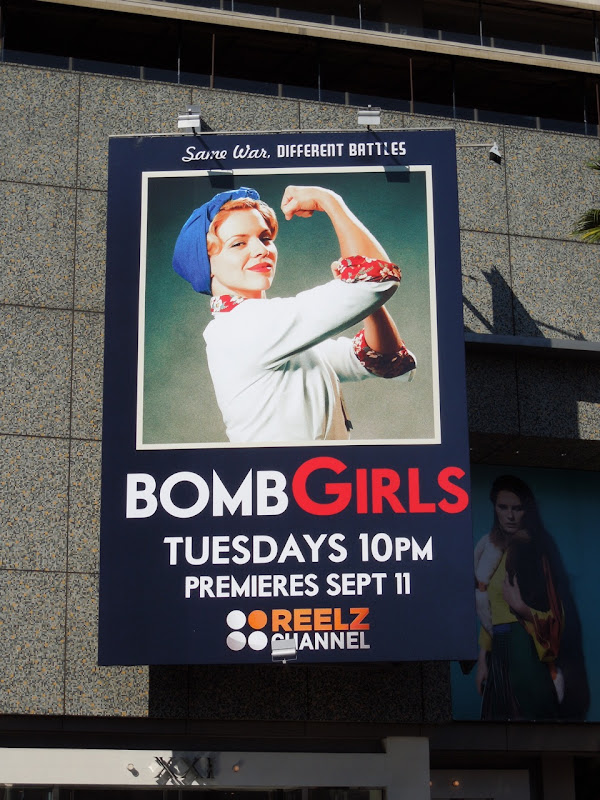 Bomb Girls season 1 Reelz billboard