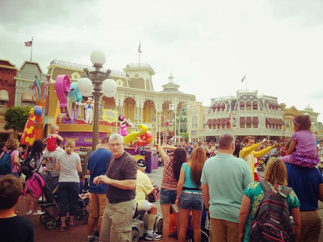 Walt Disney World Magic Kingdom parade