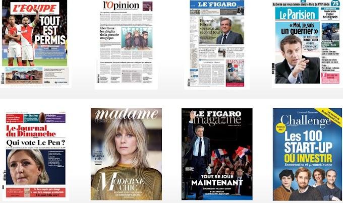 lire en ligne ou télécharger journaux et magazines en version numérique gratuitement
