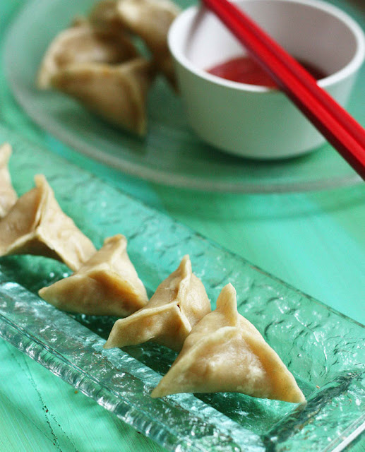 Whole Wheat Tibetian Vegetable Momo Recipe