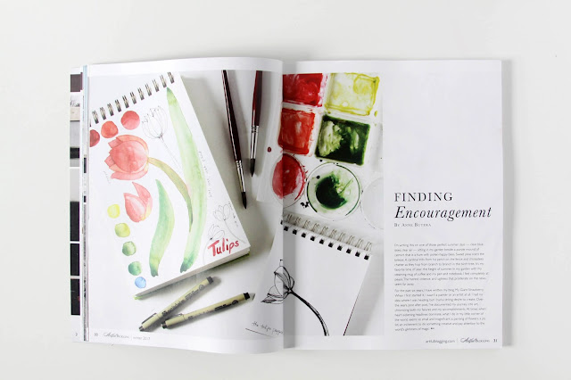 Artful Blogging Magazine, Anne Butera, My Giant Strawberry