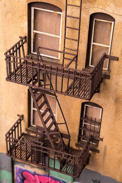 casa con escaleras