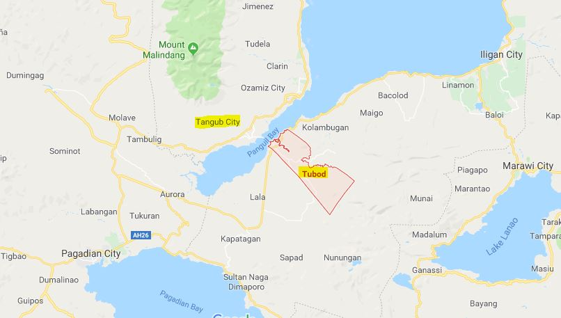 The government to build bridge at Tangub City, Misamis Occidental facing Tubod, Lanao del Norte via Panguil Bay.