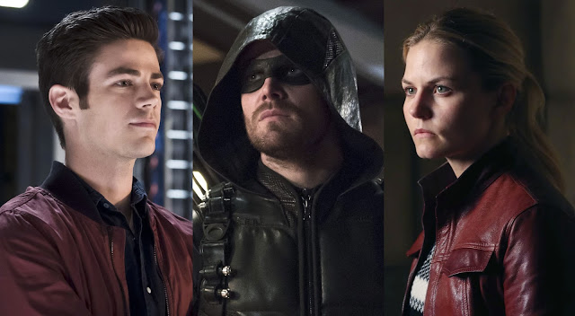 the flash, arrow, once upon a time