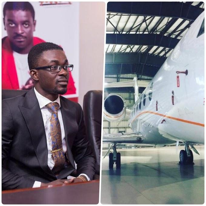 Photos: Zylofon Media & Menzgold boss buys private jet?