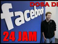 DOSA 24 JAM SEORANG WANITA di Sosial Media