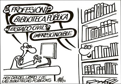 Meme de humor sobre bibliotecas