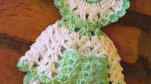 Toallero al crochet