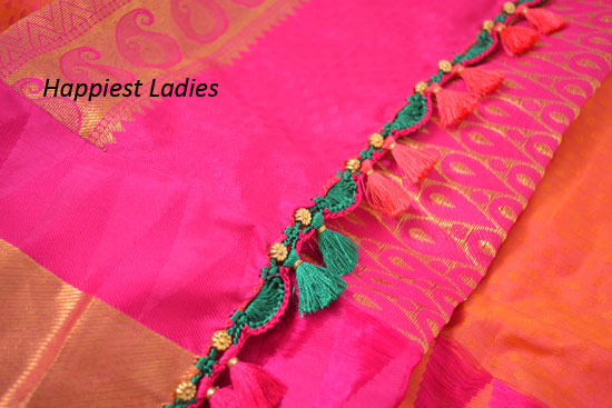 saree kuchu designs