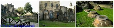 testimonianze archeologiche delal sopravvissuta basilica di Paolino da Nola