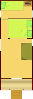 Casa con Ruote con solo i mobili