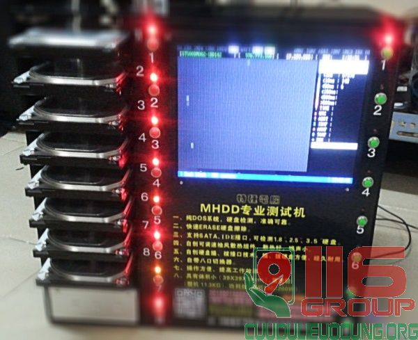 Máy kiểm tra ổ cứng hỏng BAD chuyên nghiệp