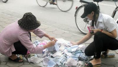 Khẩu trang vải giá rẻ mà độc hại