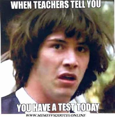 When Teacher Tell You