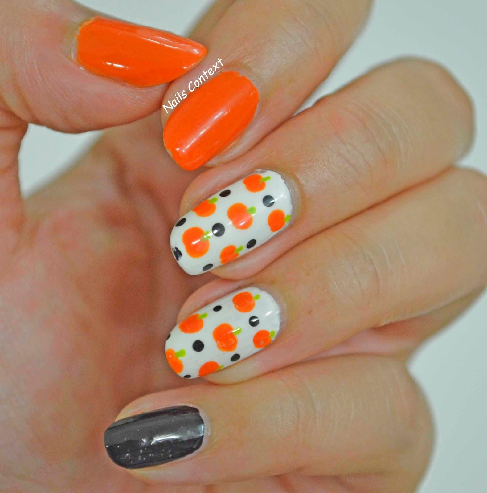 Nails Context: Pumpkins