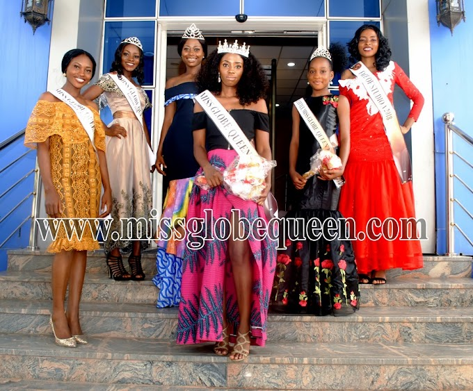 Dorothy Zoe have emerged winner of the just concluded Miss Globe Queen 2018.