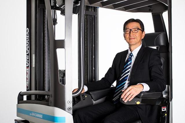 Masashi Takamatsu - New President for Unicarriers Europe
