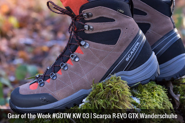 Scarpa R-Evo GTX Wanderschuhe Allrounder Trekkingschuhe 01