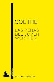 Portada del libro las penas del joven werther para descargar en pdf