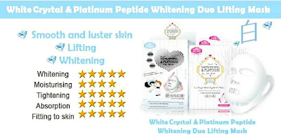 sexy look extreme whitening duo lifting mask reviews
