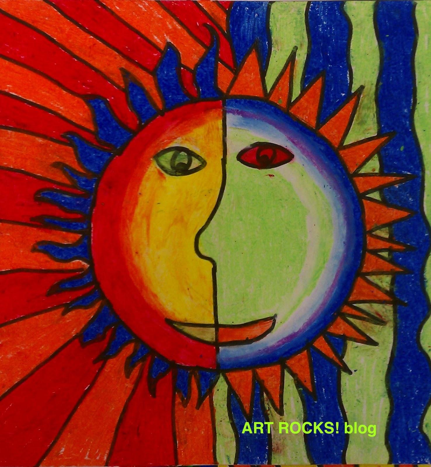 Art Rocks!: Grade 4: Aztec Suns