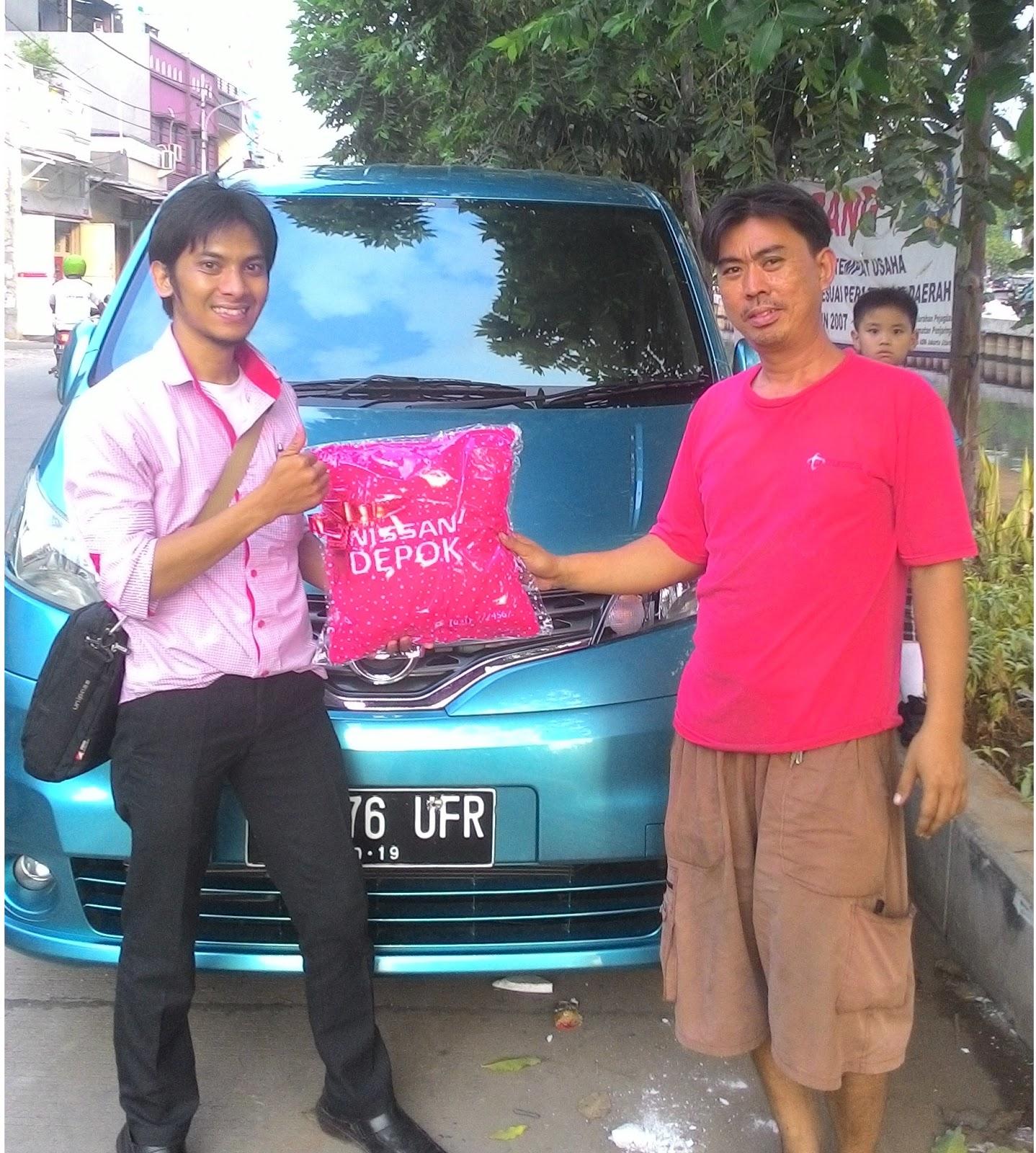 Terimakasih atas kepercayaan Koko Rudy & Keluarga yg telah membeli Nissan New Evalia melalui media www.touchnissan.com.  Semoga Berkah ya Koko...