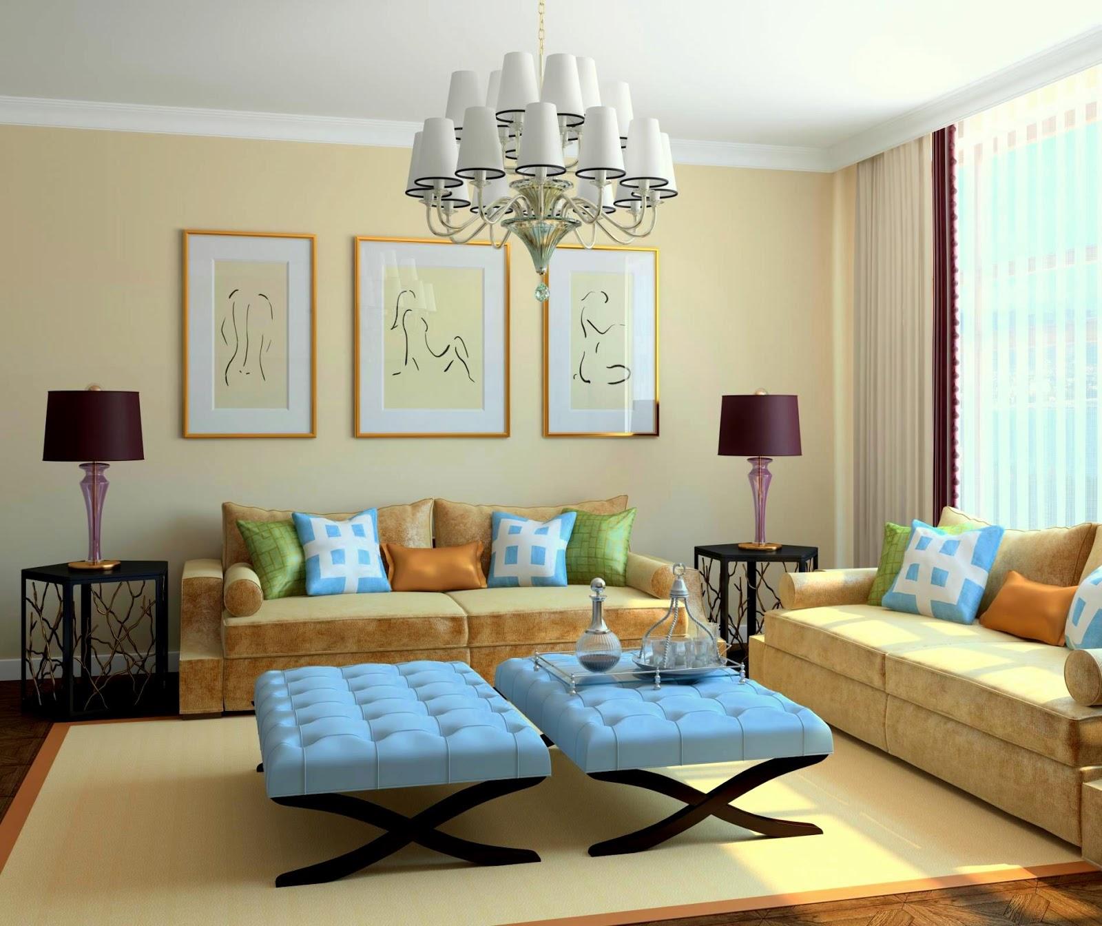 Beberapa Contoh Desain Interior Ruang Tamu Vintage Terbaru