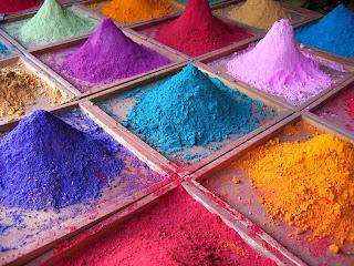 Les pigments pour colorer la chaux