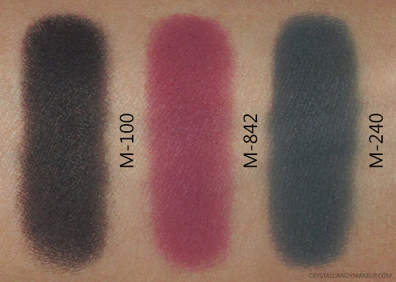 MUFE Artist Shadow Palette 4 M100 M842 M240 Swatches