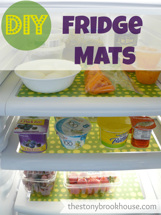 DIY Fridge Mats