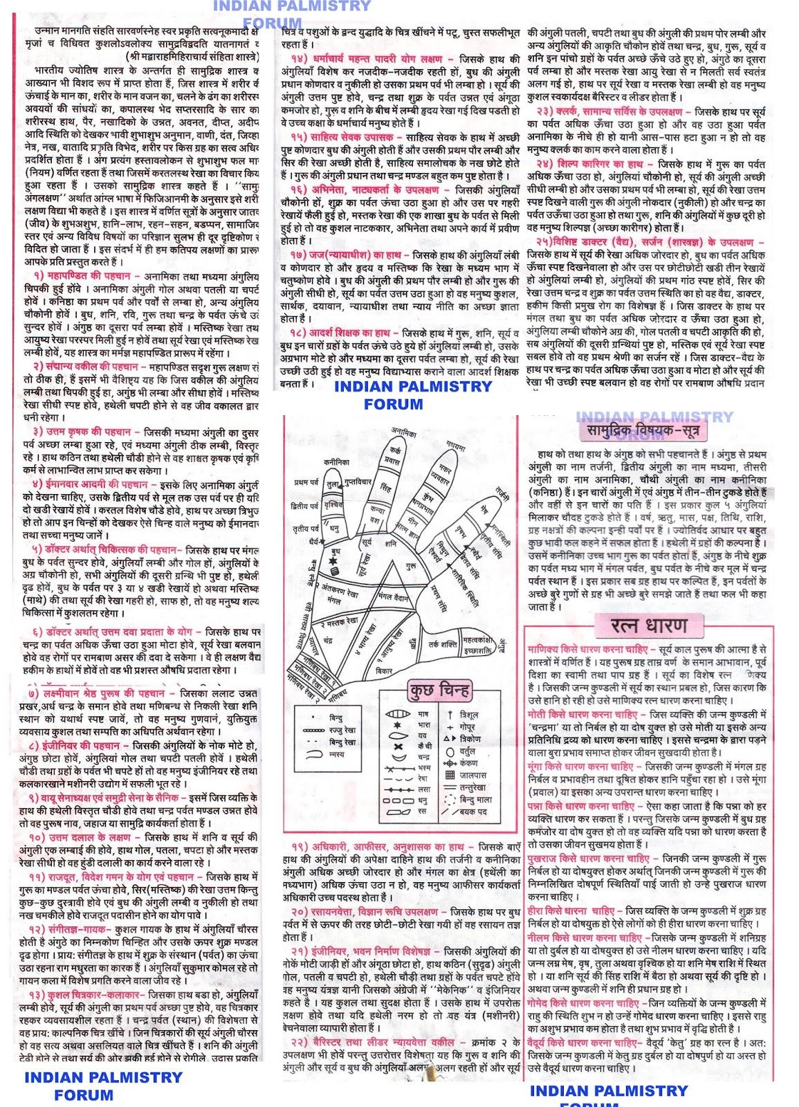 Hasta samudrika in telugu pdf hindi