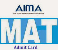 MAT Exam Admit Card 2020