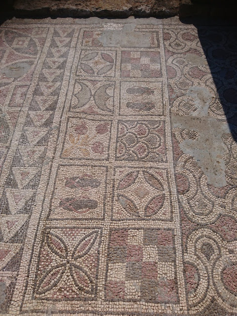 Ancient Karpas mosaics restored