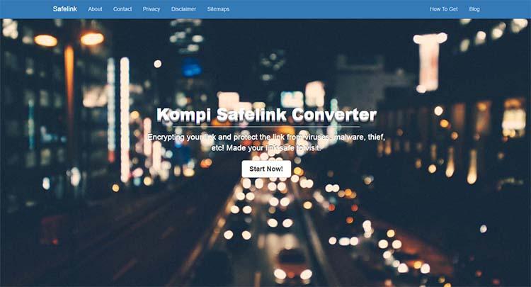 Free Blogger Template - Kompi Safelink Converter
