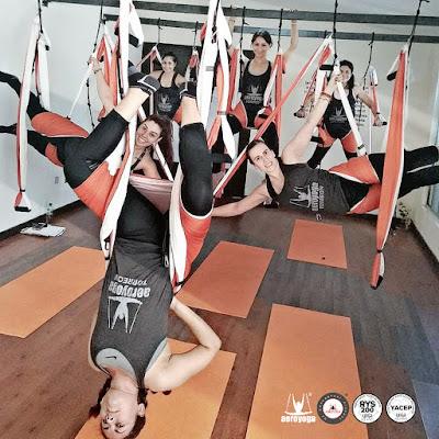 columpio, hamaca, trapeze, swing, yoga