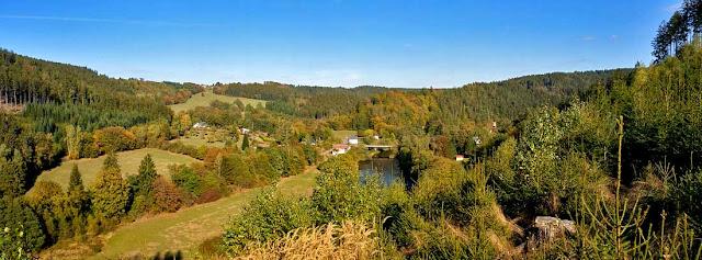 Blick ins Saaletal bei Walsburg