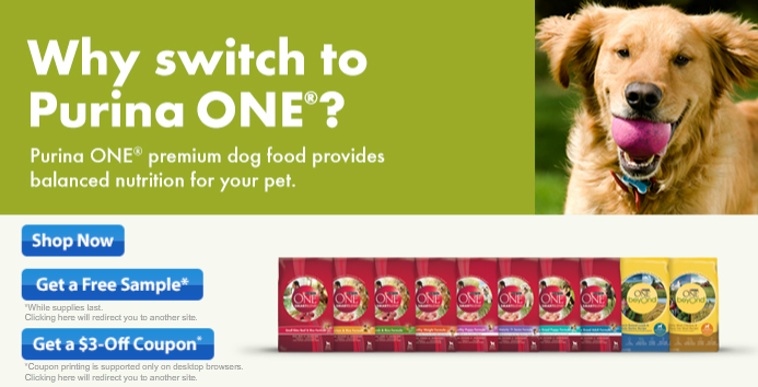 Free Purina Dog Food Aug