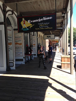 Old Sacramento on a Lazy Tuesday Afternoon