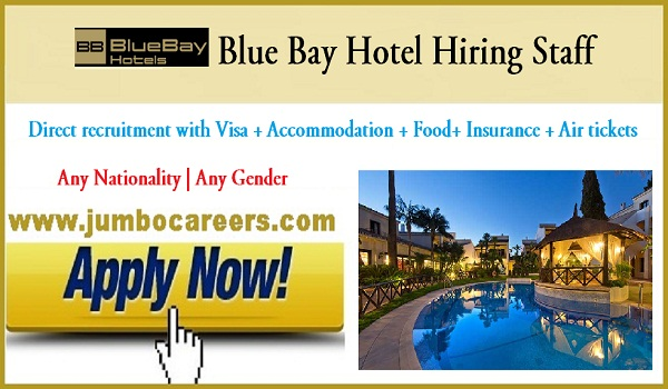 5 star hotel jobs in Fujairah, Fujairah hotel jobs with accommodation,