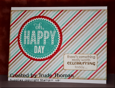 Starburst Sayings, birthday card, Stamp with Trude, Stampin' Up!, masculine card