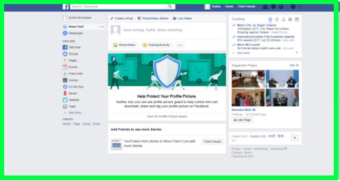 create new account facebook now
