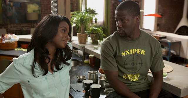 Tika Sumpter si Kevin Hart In Ride Along