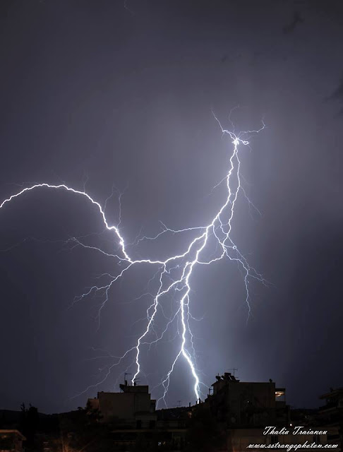 CG lightning, thunder