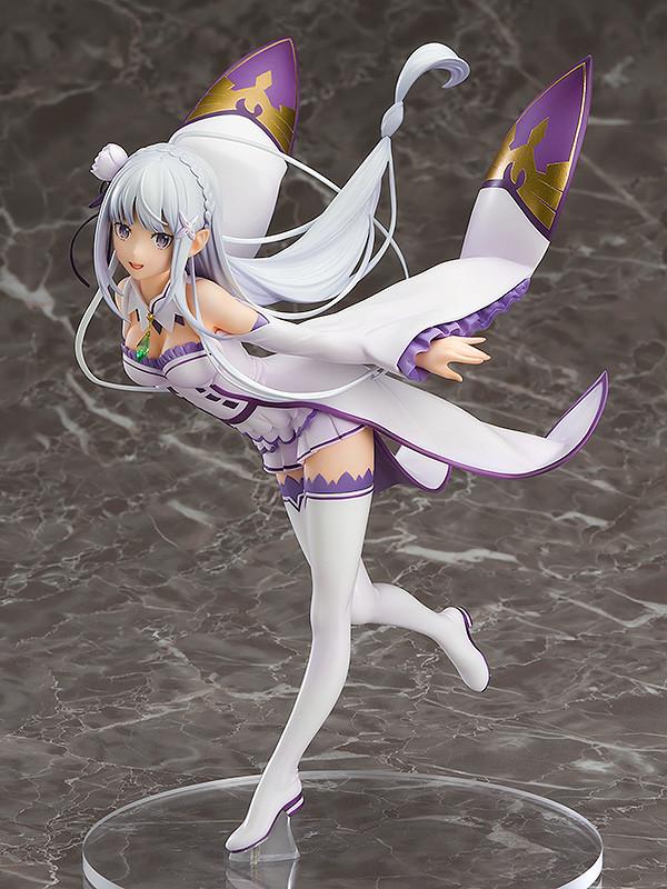 """Emilia 1/7 de """"Re:Zero kara Hajimeru Isekai Seikatsu"""" - Good Smile Company"""