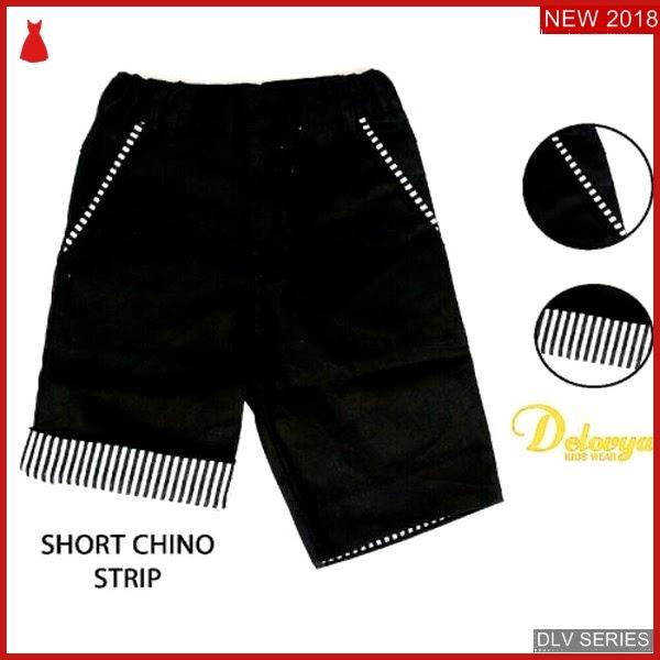 DLV16S31 Short Chino Anak Black Celana Pendek Balita Murah BMG