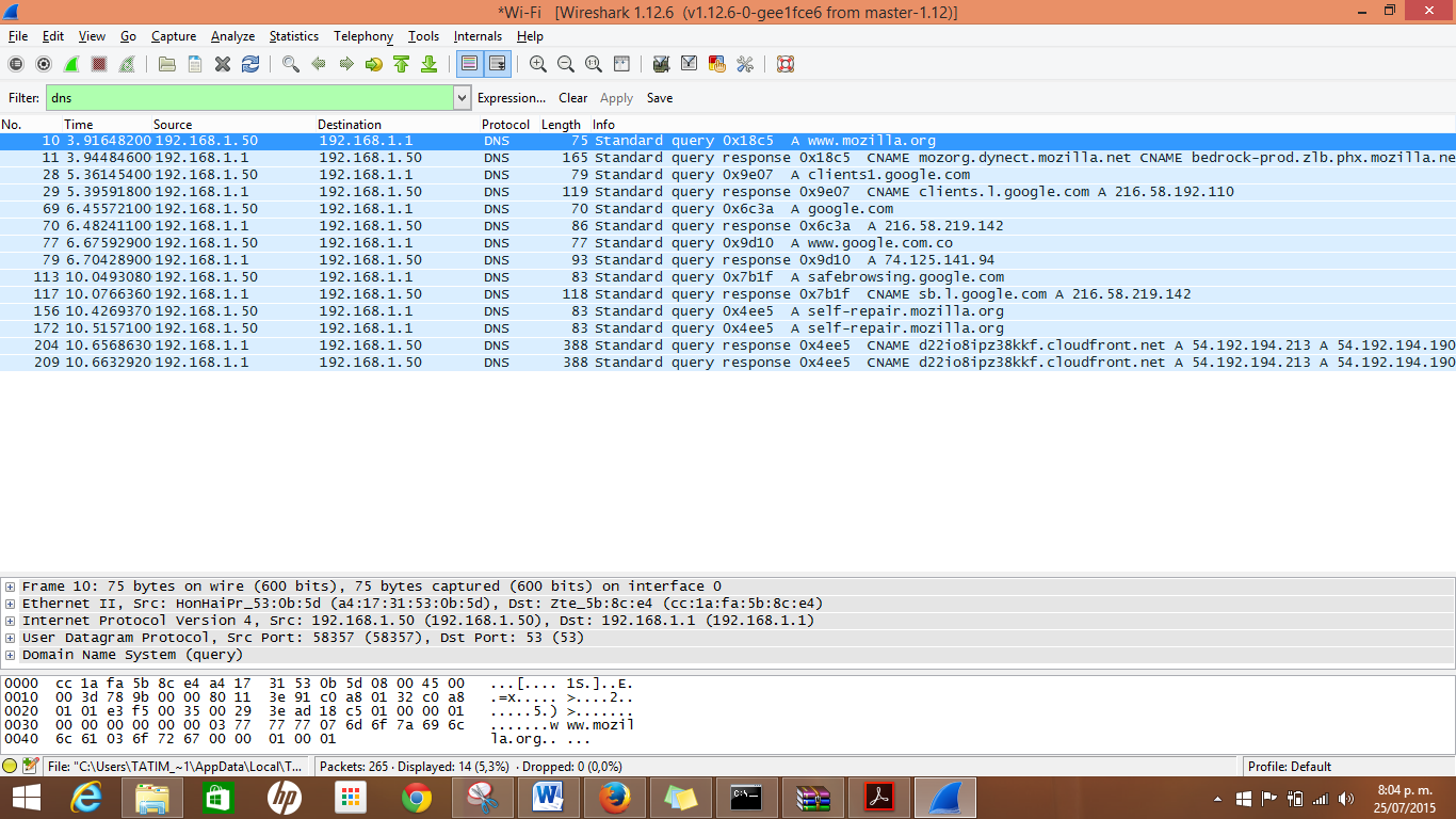 como usar wireshark en mac