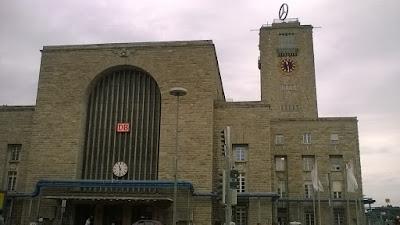Hauptbahnhof (main railway station), Stuttgart, photo by Carol and Andrea
