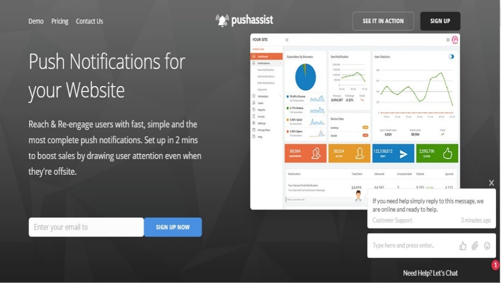 PushAssist – A Formidable Force that Drives Traffic