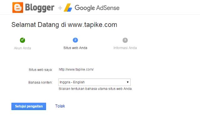Cara Mendaftar Adsense Melalui Blog